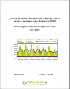 """Descarga nuestro informe: """"¿Es posible cerrar las centrales de carbón y nucleares antes del final de 2025?"""""""